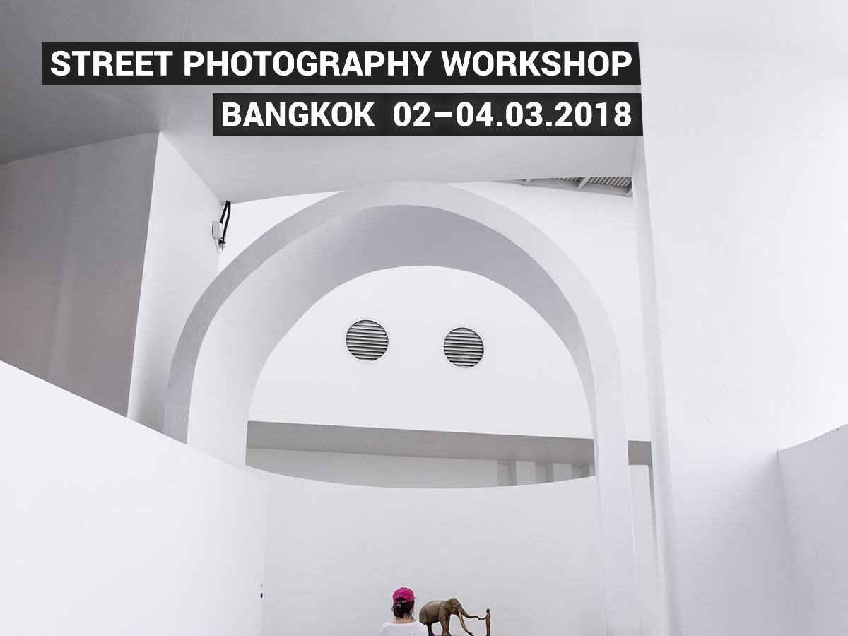 Bangkok Street Photography Workshop poster
